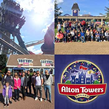 PSCA Alton Towers Trip